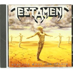 "Testament ""Practice What You Preach"" CD"