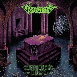 "Gorguts ""Considered Dead"" Black Vinyl"