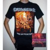 "Carnage ""Dark Recollections"" CD + T-shirt + Optional Woven Patch"