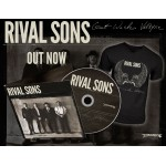 "Rival Sons ""Great Western Valkyrie"" Digisleeve CD + EXCLUSIVE German T-shirt - Limited time offer"