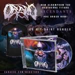 """Oceano """"Ascendants"""" CD + Any T-shirt"""