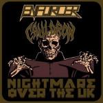 "Enforcer / Cauldron ""Nightmare Over The UK"" Tour 7"" Vinyl"