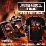 """Ol Drake """"Old Rake"""" CD + T-Shirt"""