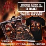 "Ol Drake ""Old Rake"" CD + T-Shirt + Official Tablature Book"