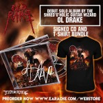 "Ol Drake ""Old Rake"" Limited Edition Signed CD + T-shirt"