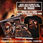 "Ol Drake ""Old Rake"" Limited Edition Signed CD + T-Shirt + Official Tablature Book"