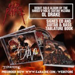 """Ol Drake """"Old Rake"""" Limited Edition Signed CD + Official Tablature Book"""