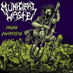 "Municipal Waste ""Massive Aggressive"" CD"