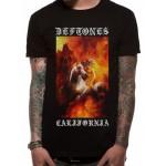 """Deftones """"California"""" T Shirt"""