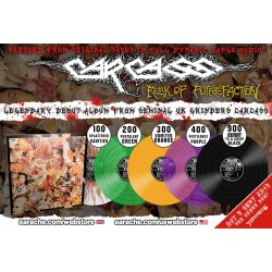 "Carcass ""Reek Of Putrefaction"" Full Dynamic Range Colour Vinyl"