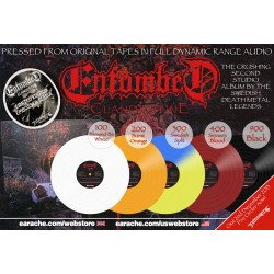 "Entombed ""Clandestine"" Limited Edition Full Dynamic Range Vinyl with Embossed Sleeve"