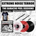 "Extreme Noise Terror ""The Earache Peel Sessions"" Vinyl + T-shirt"