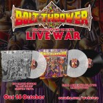 "Bolt Thrower ""Live War"" Vinyl"