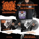"Napalm Death ""Live Corruption"" Vinyl + Any Hoodie"