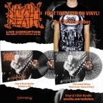 "Napalm Death ""Live Corruption"" Vinyl + Any T-shirt"