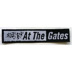 "At The Gates ""Logo"" Woven Patch"