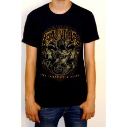 "Evile ""Five Serpents Teeth"" T-shirt"