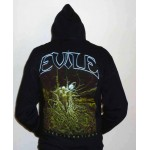 "Evile ""Infected Nations"" Zipped Hooded Sweatshirt"