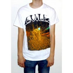 "Evile ""Infected Nations"" White T-shirt"
