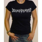 "Decapitated ""Logo"" Girlie T-shirt"