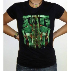 "Evile ""Skull"" Girlie T-shirt or Womens Tank"