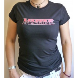 "Massive ""Logo"" Girlie Shirt"