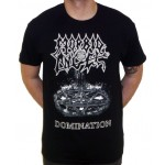 "Morbid Angel ""Domination"" Black/White T-shirt"