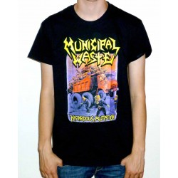 "Municipal Waste ""Hazardous Mutation"" Black T-shirt"