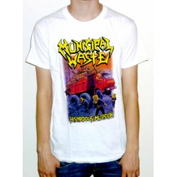 "Municipal Waste ""Hazardous Mutation"" White T-shirt"