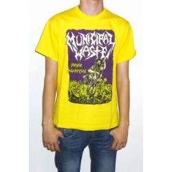 "Municipal Waste ""Massive Aggressive"" Yellow T-shirt"
