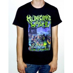 "Municipal Waste ""The Art Of Partying"" Black T-shirt"