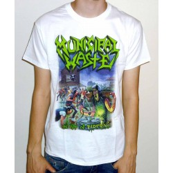 "Municipal Waste ""The Art Of Partying"" White T-shirt"