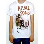 "Rival Sons ""Head Down"" White T-shirt"
