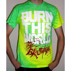 "The Browning ""Burn This World"" Limited Edition Tie-Dye T-shirt"
