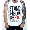 "The Browning ""Standing On The Edge"" White Tank Top"