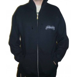 "Woods Of Ypres ""Woods 5: Grey Skies & Electric Light"" Zip Up Hoodie"