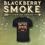 "Blackberry Smoke ""Like An Arrow"" Army Green T-shirt - PRE-ORDER"