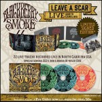 "Blackberry Smoke ""Leave A Scar - Live In North Carolina"" SIGNED 2CD + DVD"