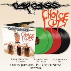 "Carcass ""Choice Cuts"" 2x12"" Colour Vinyl"