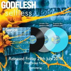 "Godflesh ""Selfless"" Vinyl LP"