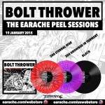 "Bolt Thrower ""The Earache Peel Sessions"" Limited Edition Colour Vinyl LP"
