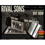 "Rival Sons ""Great Western Valkyrie"" Limited Edition German CD Box Set with Engraved Hip Flask"