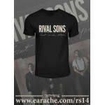 "Rival Sons ""Great Western Valkyrie"" Logo T-shirt"