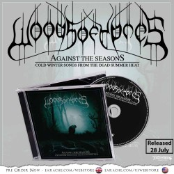 "Woods Of Ypres ""Against The Seasons: Cold Winter Songs From The Dead Summer Heat"" CD"