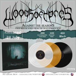 "Woods Of Ypres ""Against The Season: Cold Winter Songs From The Dead Summer Heat"" Vinyl LP"
