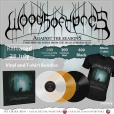 "Woods Of Ypres ""Against The Season: Cold Winter Songs From The Dead Summer Heat"" Vinyl LP + Any T-shirt, with optional woven patch"
