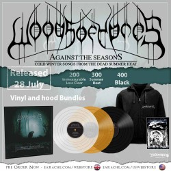 "Woods Of Ypres Pack 4 - ""Woods 5: Grey Skies.."" Zip Hoodie + Any Vinyl"