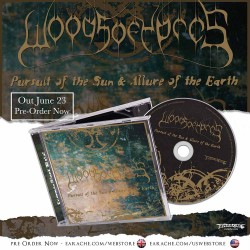 "Woods Of Ypres ""Pursuit Of The Sun & Allure Of The Earth"" CD"