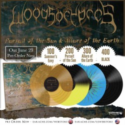 "Woods Of Ypres ""Pursuit Of The Sun & Allure Of The Earth"" Vinyl"