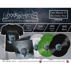 "Woods Of Ypres ""Woods III: The Deepest Roots and Darkest Blues"" Gatefold Vinyl + Any T-shirt + Optional Woven Patch"